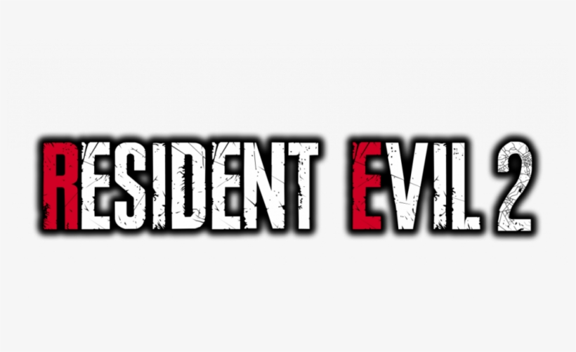 Resident Evil - Resident Evil 2 Logo - Free Transparent PNG