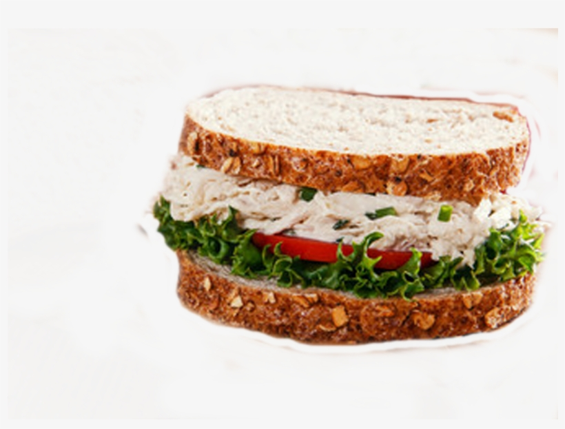 Vc Chick N Salad Sandwich - Chicken Salad, transparent png #6479011