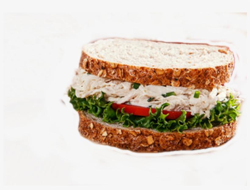 Vc Chick N Salad Sandwich - Chicken Salad, transparent png #6479011
