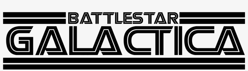 File Battlestar Galactia Logo Black Png Wikimedia Commons - Battlestar Galactica Tv Show Logo, transparent png #6481772