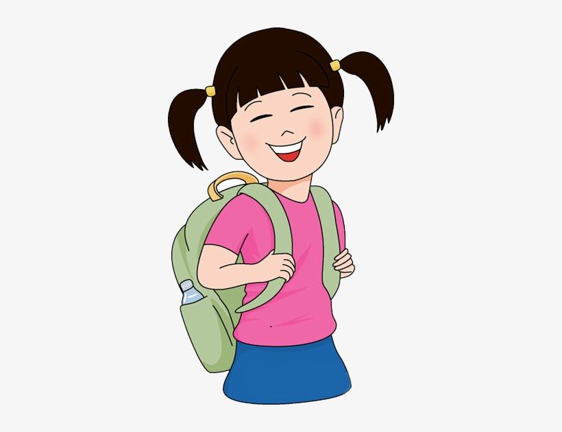 School Girl Clipart Png, transparent png #652949