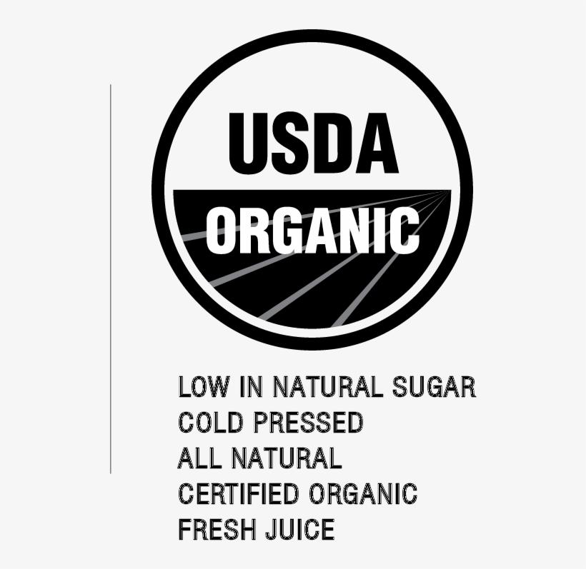 Png Organic Bottled Juice - Usda Organic, transparent png #653291