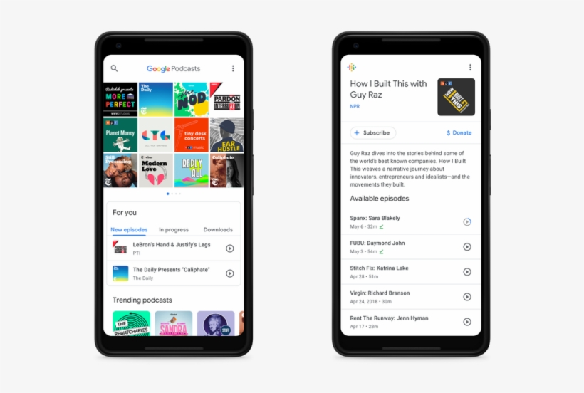 Google Podcasts Features Google Assistant Support, - Google Podcasts, transparent png #653816