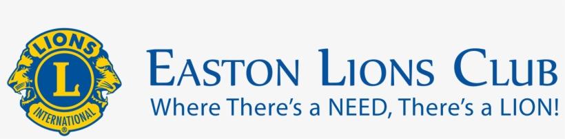 "Easton Lions Club - Lions International Square Sticker 3"" X 3"", transparent png #654187"