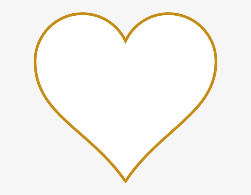 How To Set Use Open Gold Heart Clipart - Free Transparent ...
