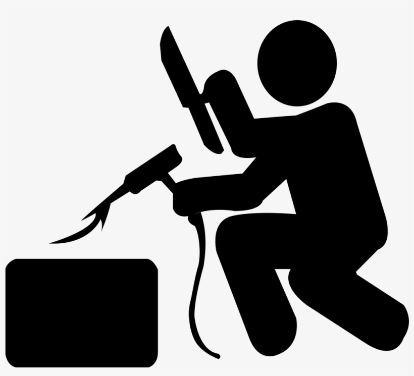 Transparent Download Welder Vector Silhouette Welding Logo Icon Free Transparent Png Download Pngkey