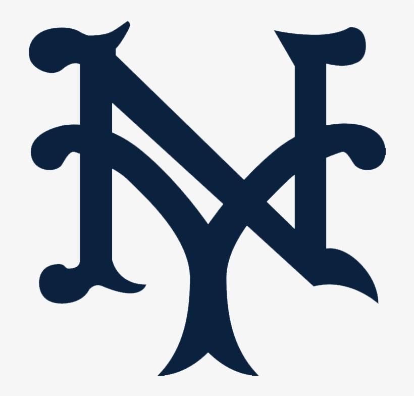 6869 New York Giants Primary 1918 - My Giants Logo Baseball, transparent png #656970