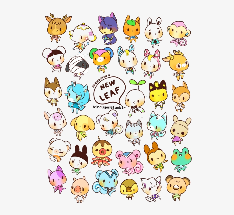 Pin By Crystal Clear On My Stuff - Animal Crossing New Leaf Drawings, transparent png #657266