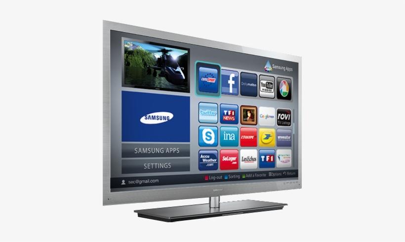 Samsung Led & Plasma Television, Buy With Confidence - Television Samsung Smart Tv 2010, transparent png #657753