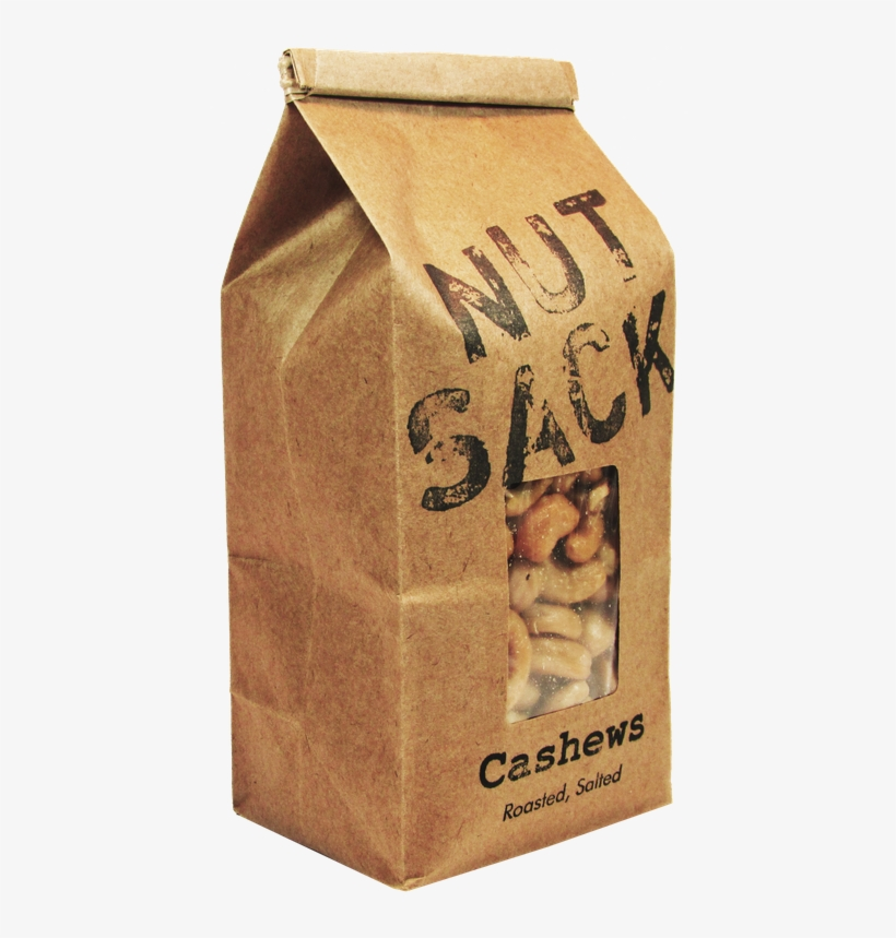 Roasted Salted Cashews Nutsack Nuts Nutsack Foods Loaded - Cashew, transparent png #659370