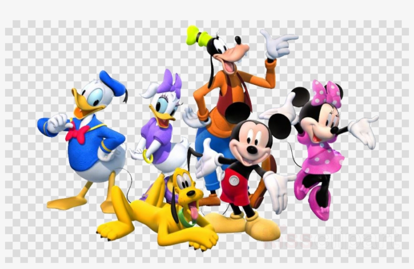 Mickey Mouse Clubhouse Characters Png Clipart Mickey Free