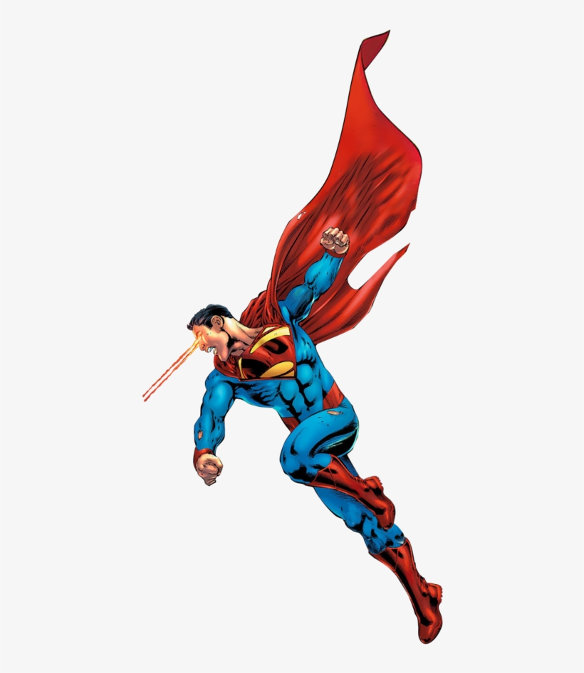 Superman Flying Side View - Superman Side View, transparent png #661529