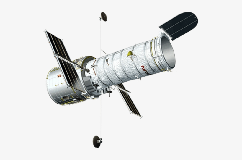 Download Hubble Space Telescope White Background Free Transparent Png Download Pngkey