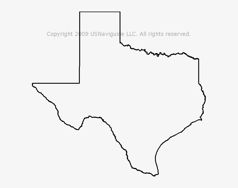 State Of Texas Map Outline.Texas Map Outline Png State Of Texas Outline Png Free