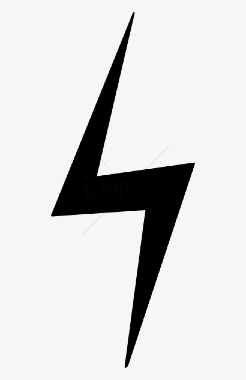 Lightning black. Clip art and white