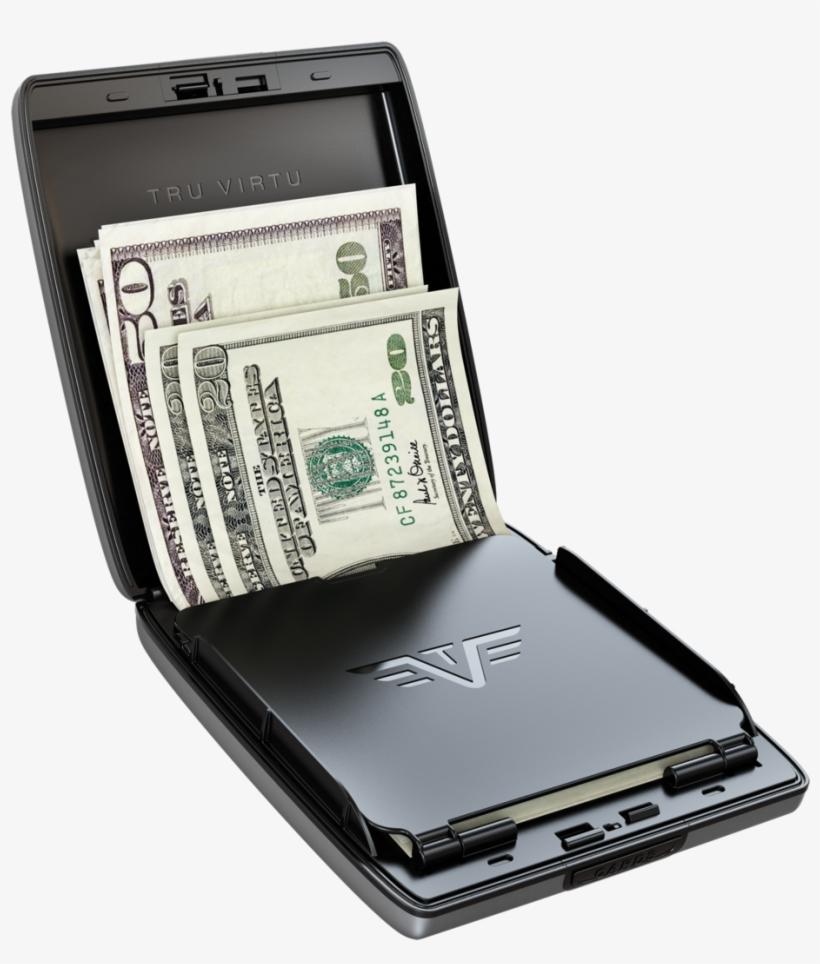 Tru Virtu® Wallet Money & Cards Purple Rain - Tru Virtu Money And Cards Case, transparent png #663126