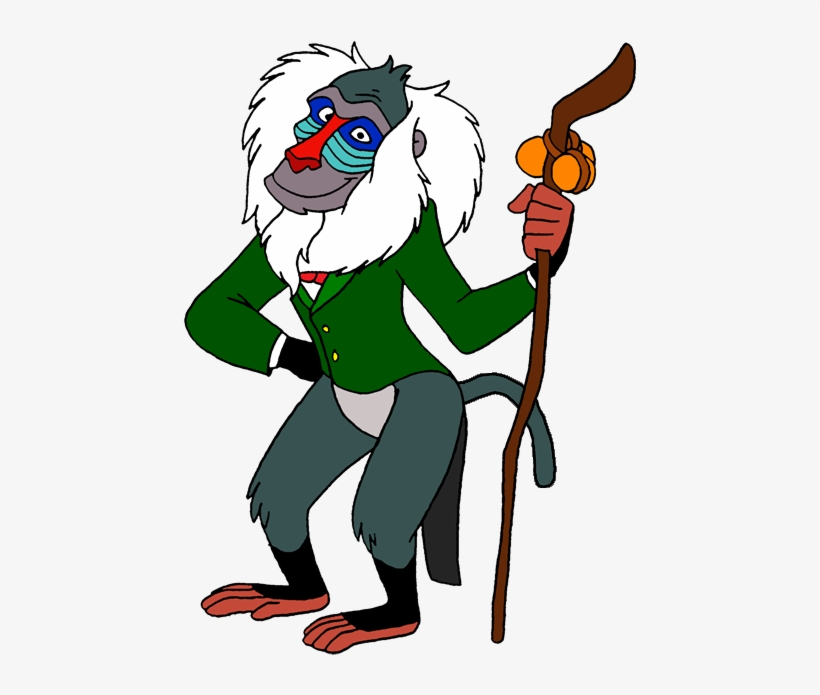 Rafiki As The Wizard Of Oz By Lionkingrulez-d5t3ik3 - Wizard Of Oz Beast, transparent png #663374