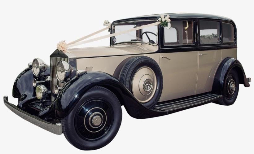 Grace, Our Latest Vintage Wedding Car, The Ultimate - Vintage Rolls Royce Wedding Car Company, transparent png #664626