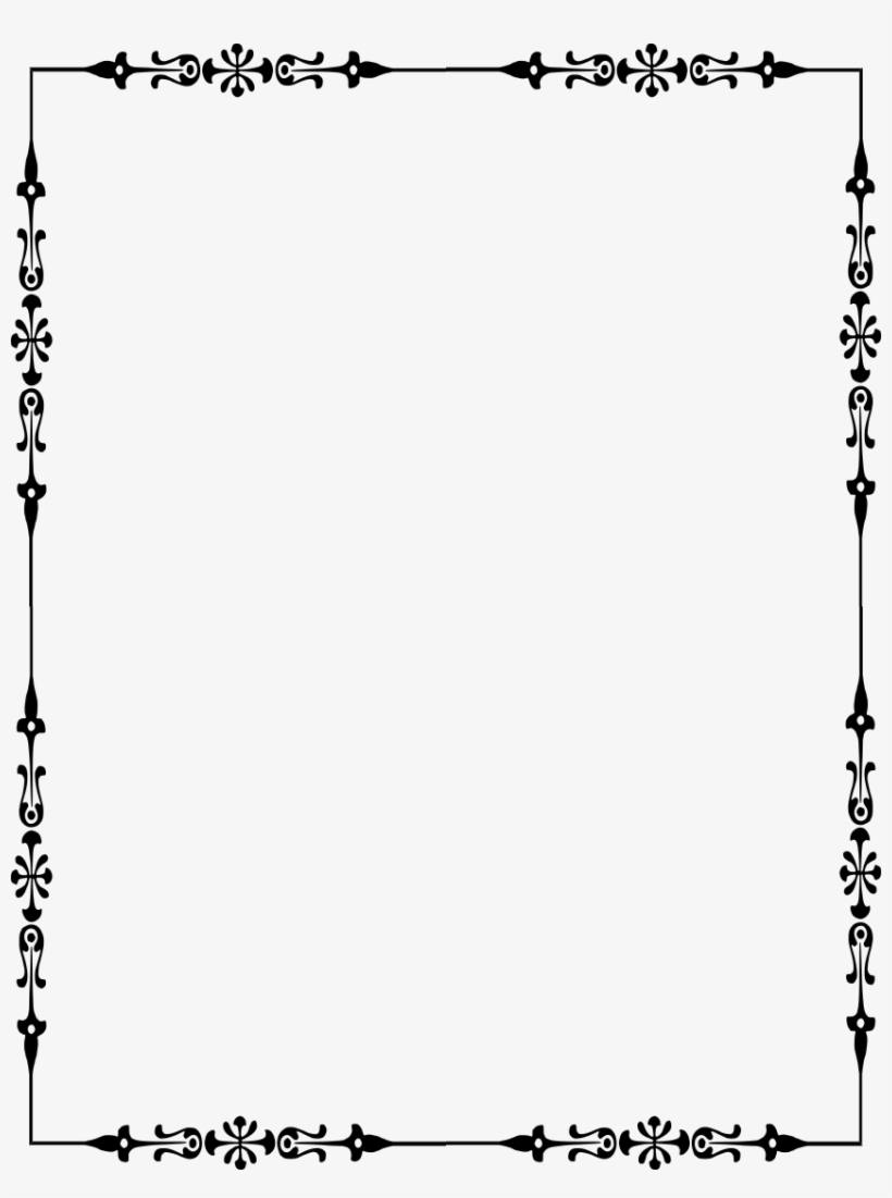 Source - Www - Wpclipart - Com - Report - Victorian - Rectangle Victorian Frame Png, transparent png #667164