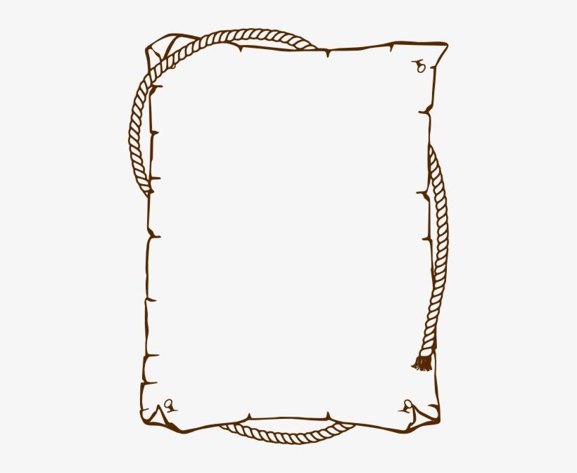 Brown Border Clip Art At Clker Com - Border Clip Art, transparent png #667729