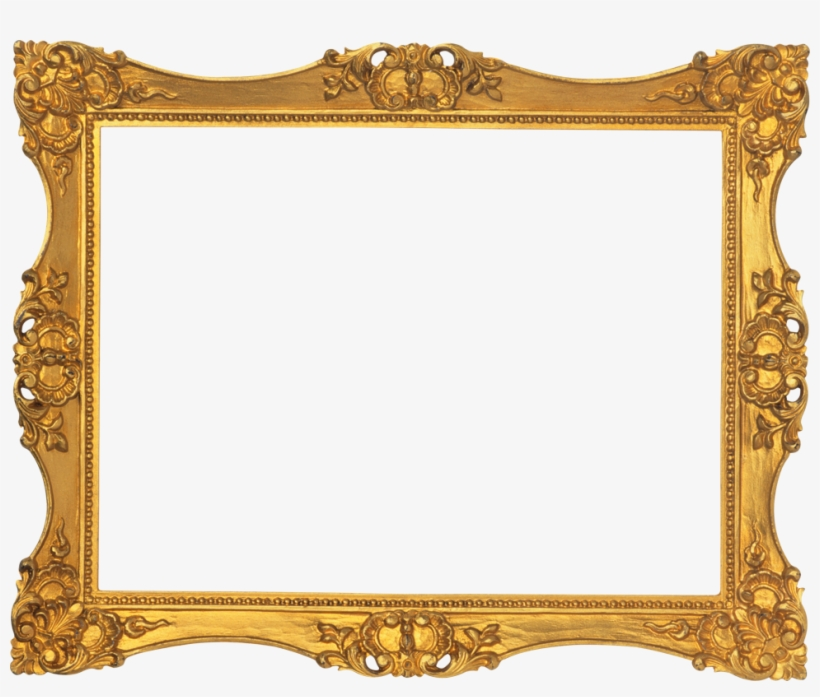 Victorian Gold Picture Frames, transparent png #667897