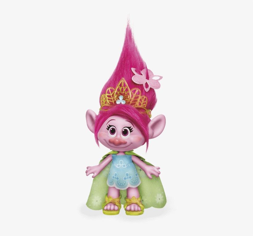 Trolls Einzelfigur Poppy - Trolls En Porcelana Fria, transparent png #667900