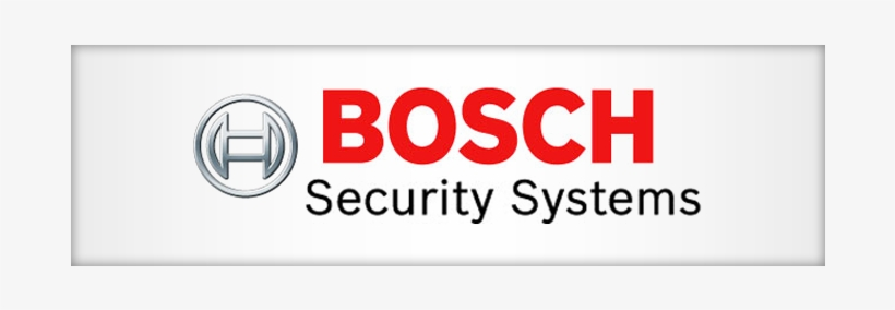 Bosch Logo Png - Bosch Security Systems Logo, transparent png #669527