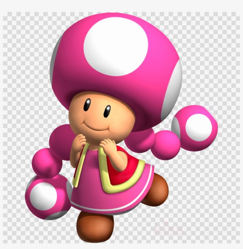 Toadette Mario Clipart Toad Princess Peach Wii U Free