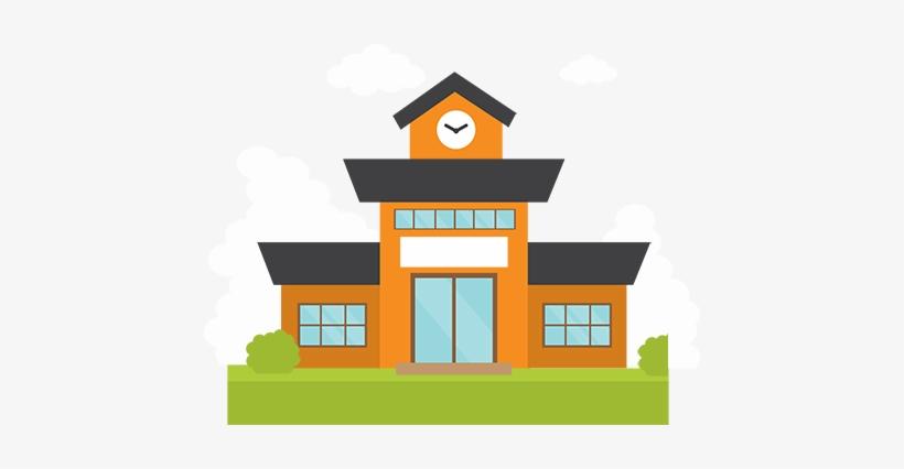 Blessings School Building - School Building School Logo Png, transparent png #670748