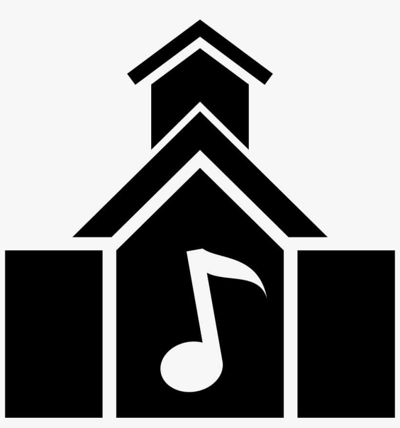 Music School Building - Music School Icon Png, transparent png #671067