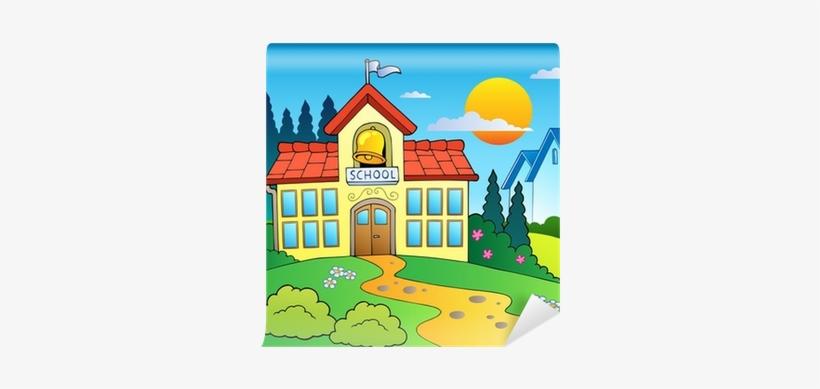School Building Clip Art, transparent png #671904