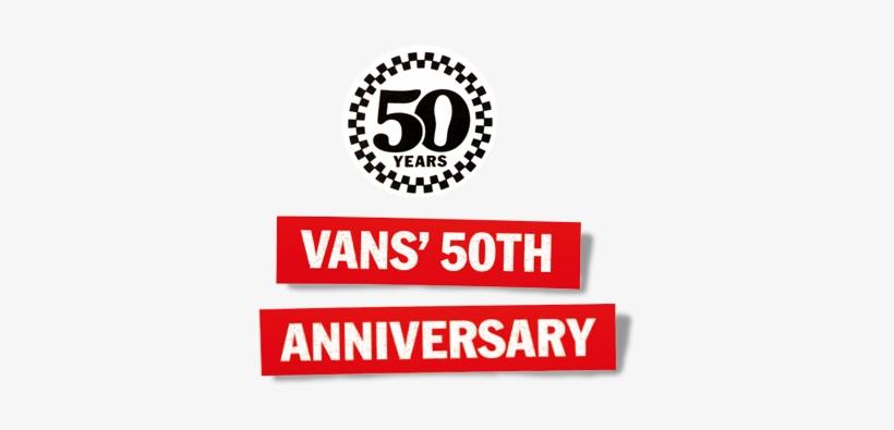 Vans 50th Anniversary Logo, transparent png #671941