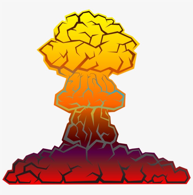 Nuclear Warfare Nuclear Weapon Nuclear Explosion Bomb - Nuclear Explosion Clip Art, transparent png #672141
