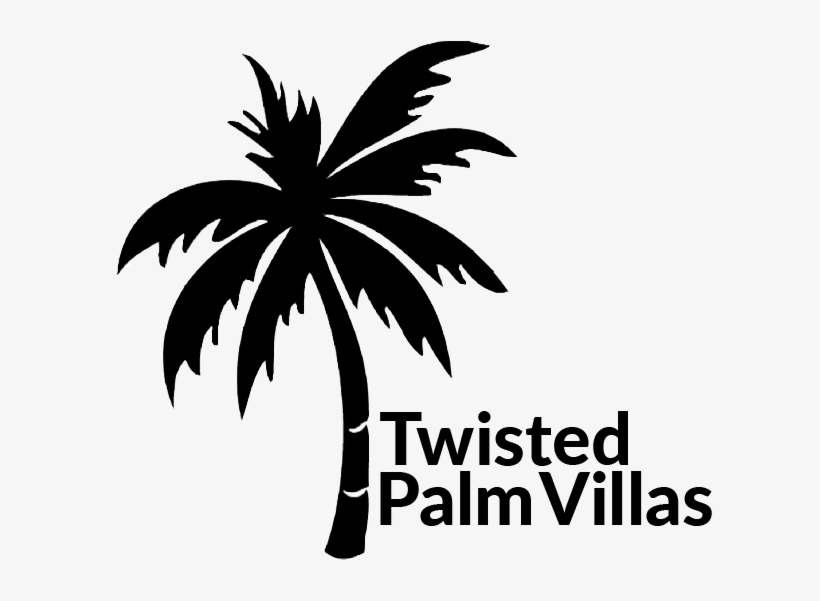 We Buy Sea Side And Start Drawing Twisted Palm Villas - Palm Trees, transparent png #672233