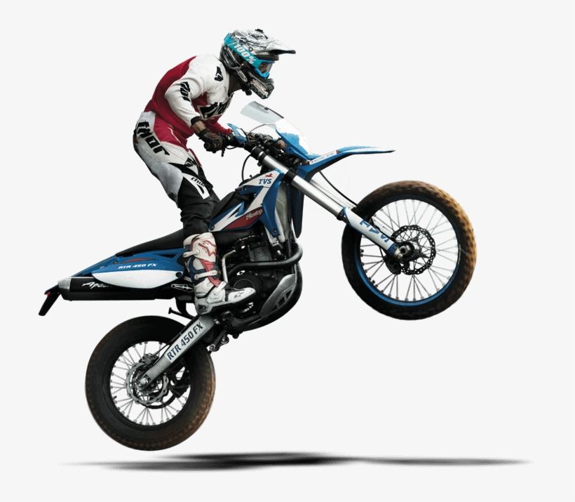 0b5bb70d2 Tvs-racing - Freestyle Motocross - Free Transparent PNG Download ...