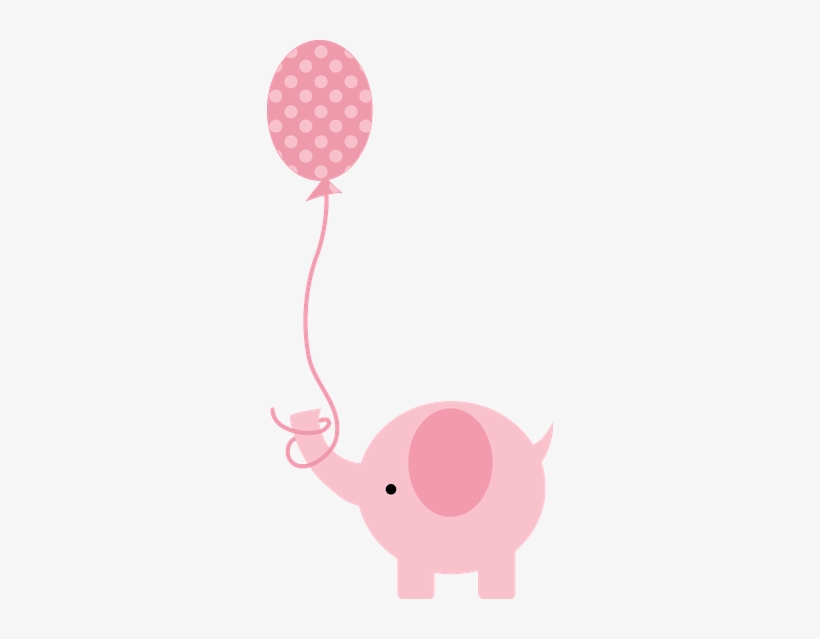 Construction Clipart Baby Shower Pink Baby Shower Elephant Clipart