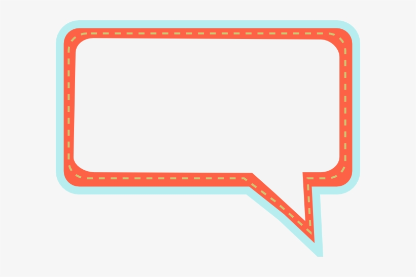 Speech Bubble Png Cute Vector Royalty Free Download - Cute Bubble Text Png, transparent png #673233