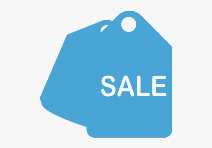 Sale Tag - Sale Png Icon Blue, transparent png #674473