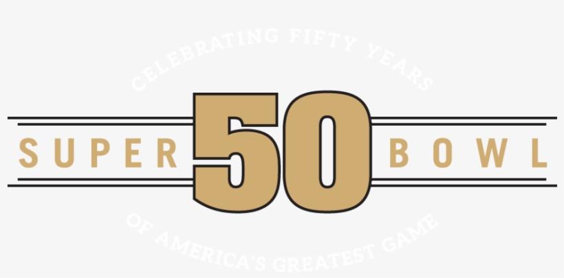 50th Super Bowl Logo - Super Bowl 50, transparent png #674585
