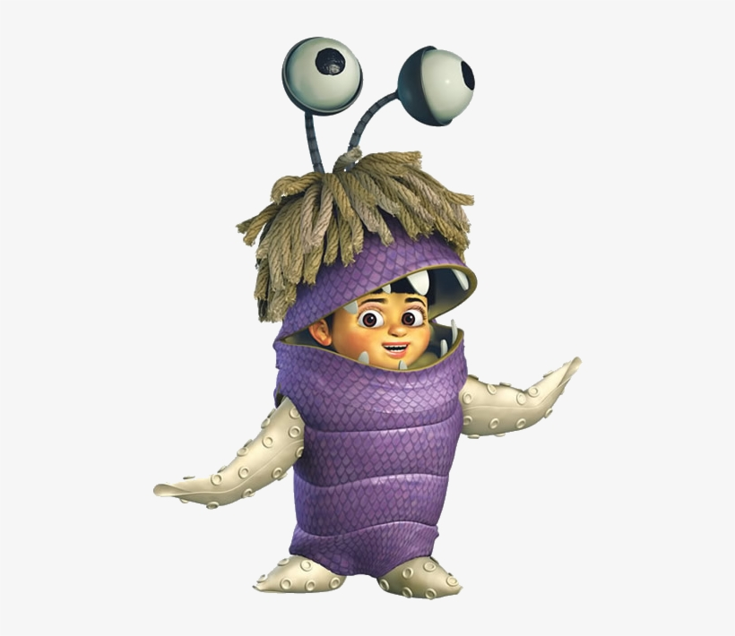 Clip Art Royalty Free Download Boo Halloween Costume - Boo Monsters Inc Monster, transparent png #674693