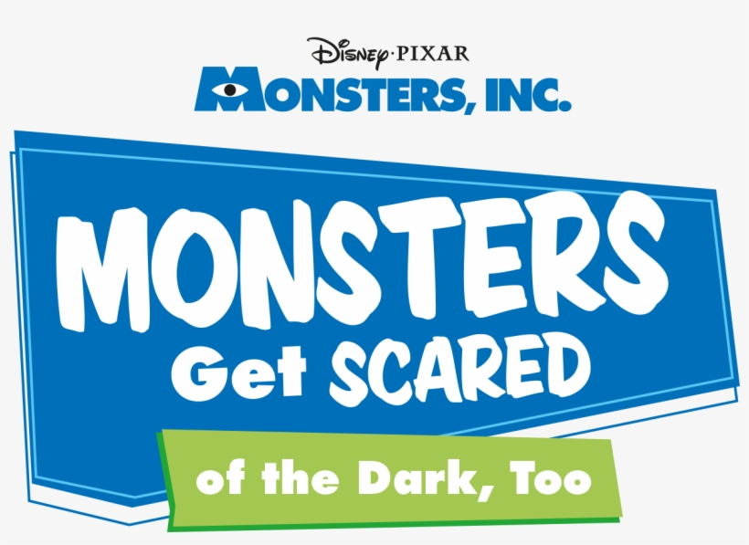 Monsters Get Scared Of The Dark, Too - Monsters Inc, transparent png #675226