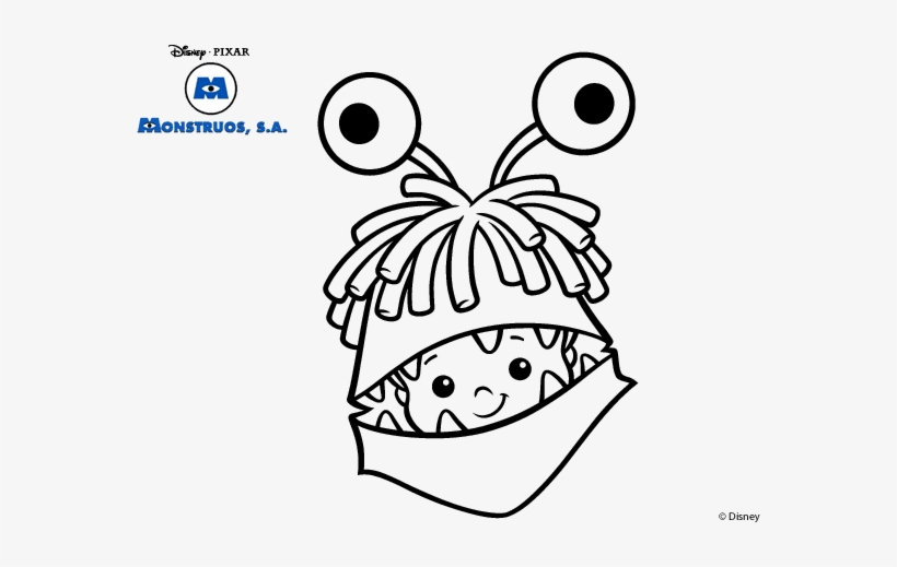 Drawing Monsters Inc 64 - Monsters Inc, transparent png #675785