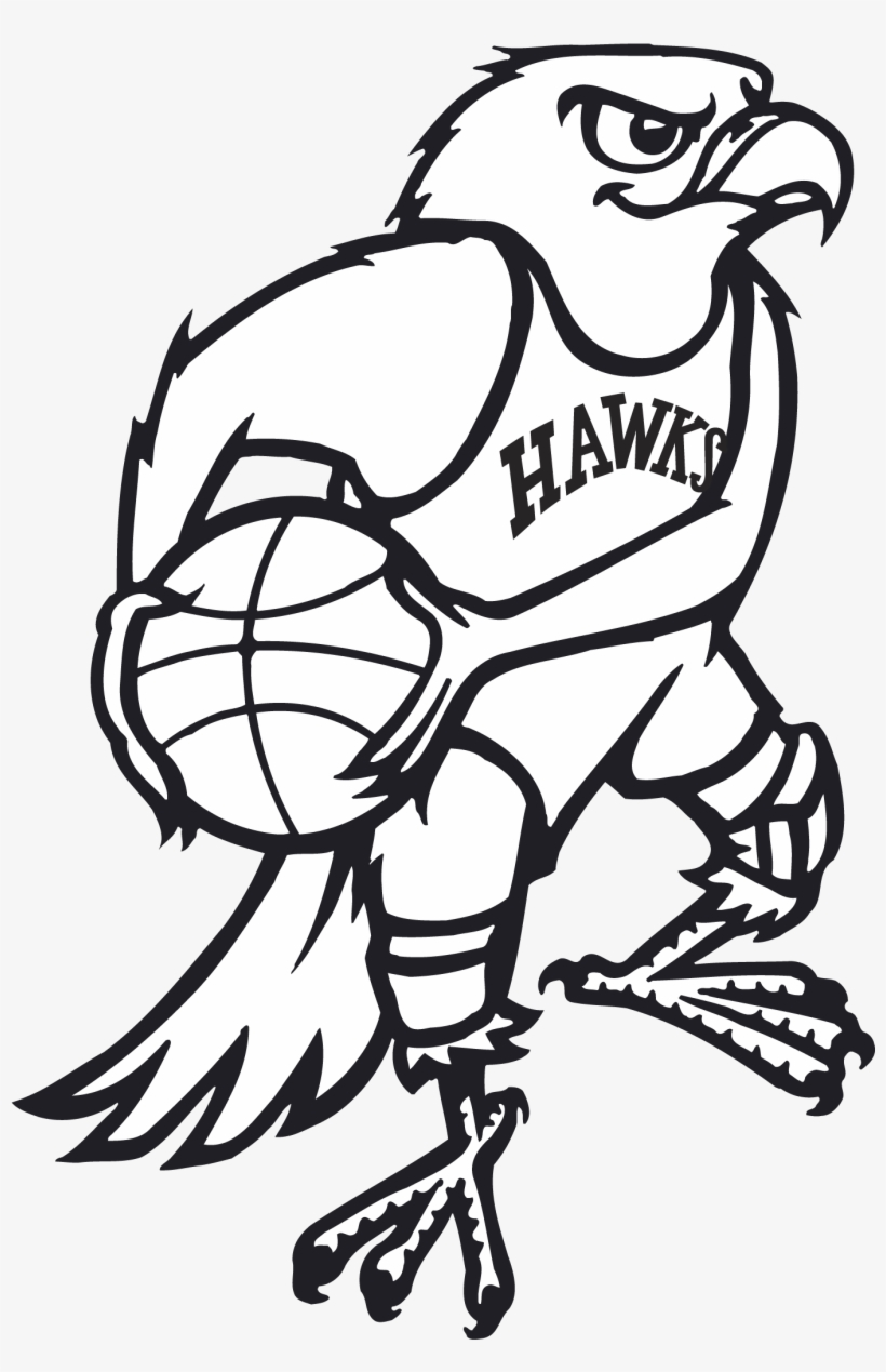 Old Atlanta Hawks Logo - 2003 Nba All-star Game, transparent png #675890