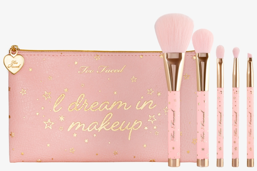 Christmas Dreams Essential Cruelty-free Brush Set - Too Faced Christmas Dreams Brush Set, transparent png #676211