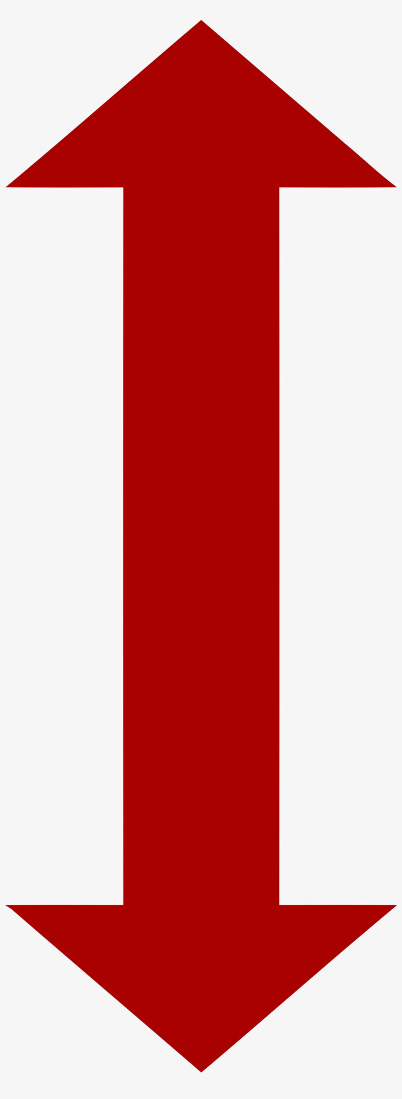 Double Arrow Symbol - Two Way Red Arrow, transparent png #676317