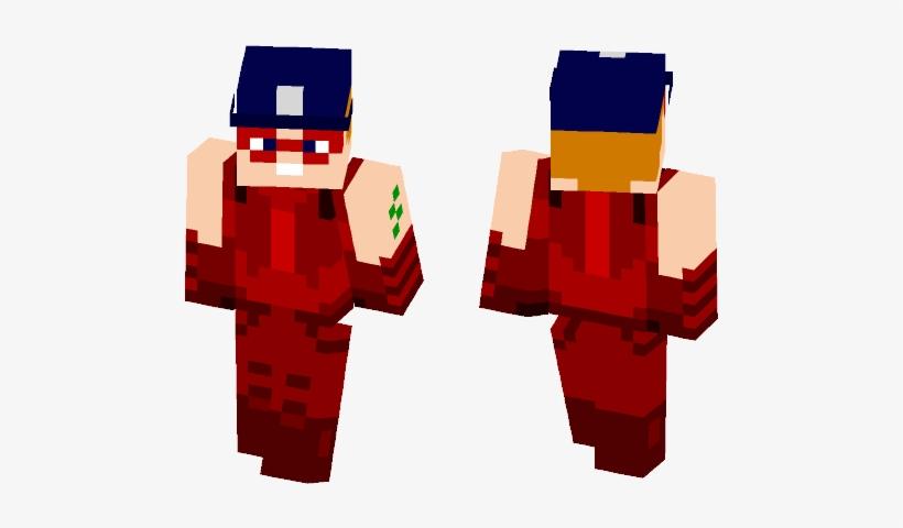 Arsenal I Red Arrow I (dc) - Minecraft Skins Blackflash, transparent png #676960