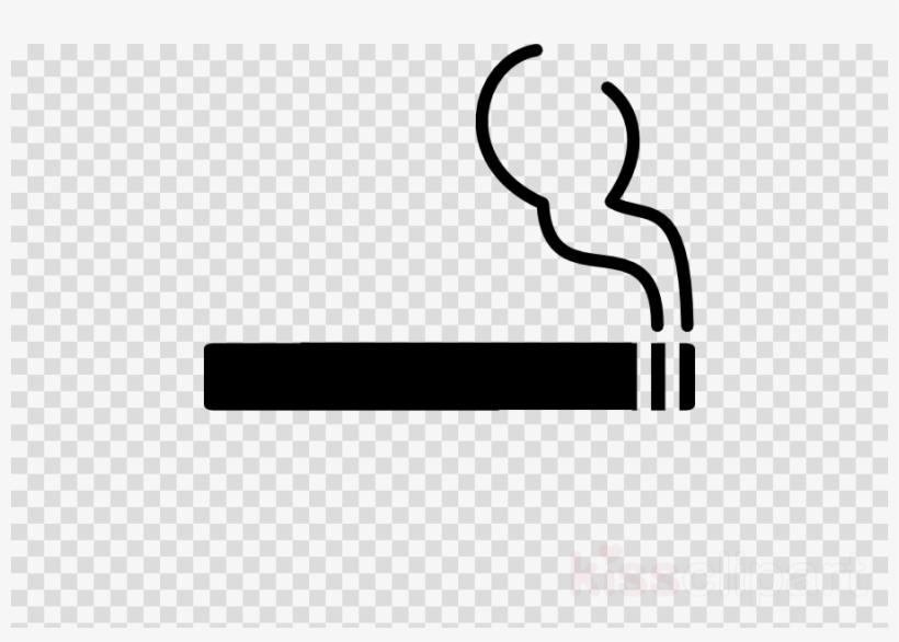Smoke cigarette. Smoking room png clipart