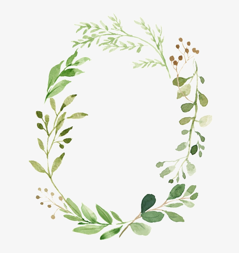 This Graphics Is Wreath Material Mainly About Green, - Mama Bear Bar Necklace, transparent png #680656