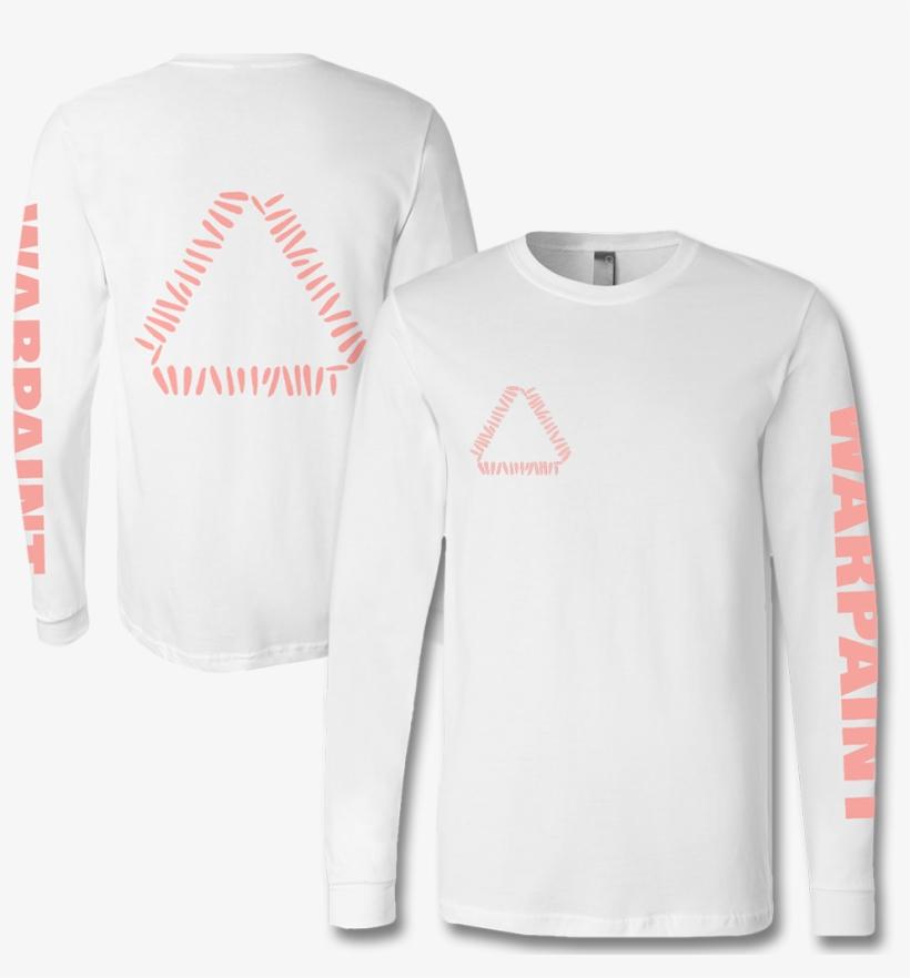 Official Warpaint Triangle Logo Long Sleeve T-shirt - Long-sleeved T-shirt, transparent png #680820