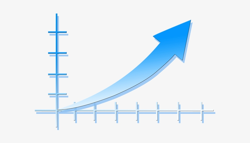 Exponential-growth - Upward Trend - Free Transparent PNG ...